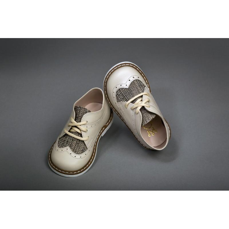 Christening Shoe for Boy- Handmade