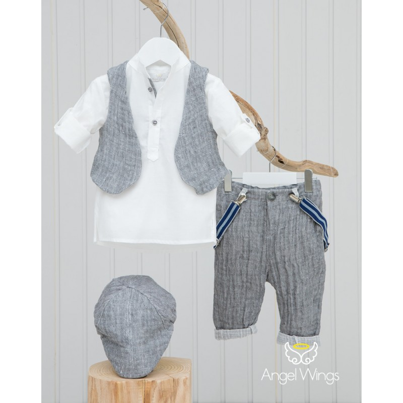 Baptism Clothes for Boy - Alex