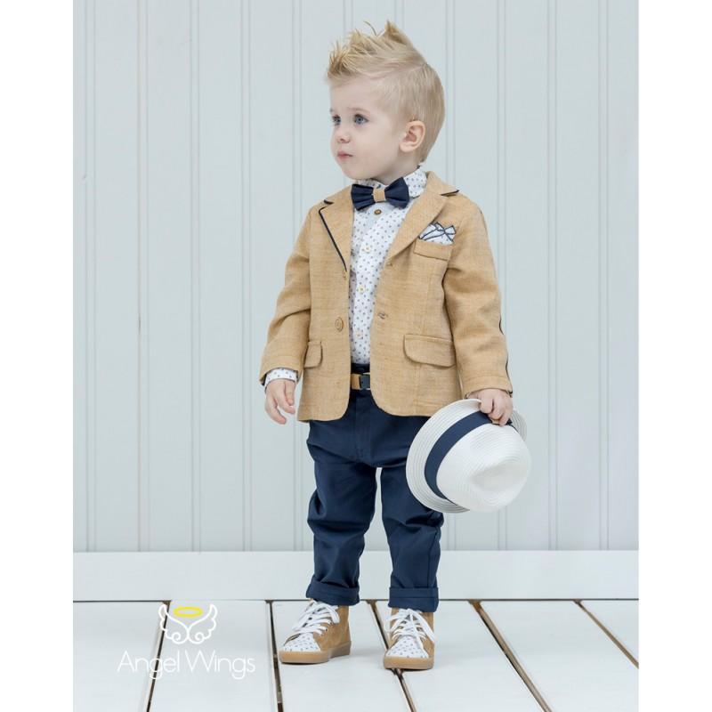 Baptism Clothes for Boy - John