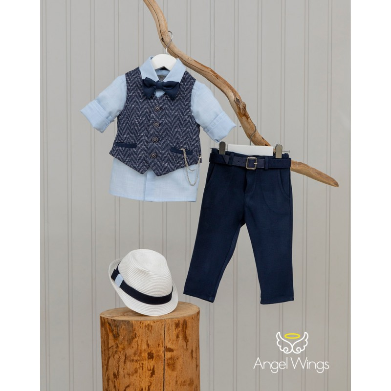 Baptism Clothes for Boy -  Victor