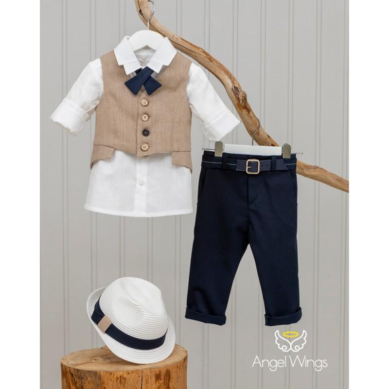 Baptism Clothes for Boy -  Edward