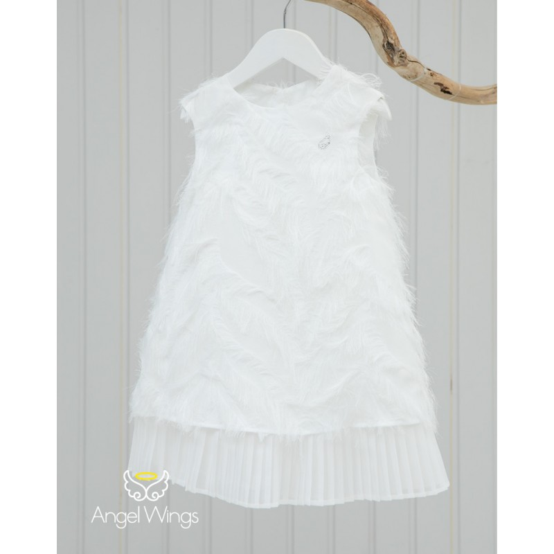 Baptism Clothes for Girl - Vionet Off White