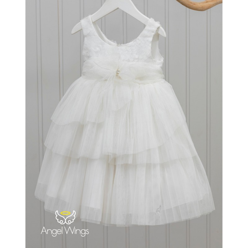 Baptism Clothes for Girl - Paeonia