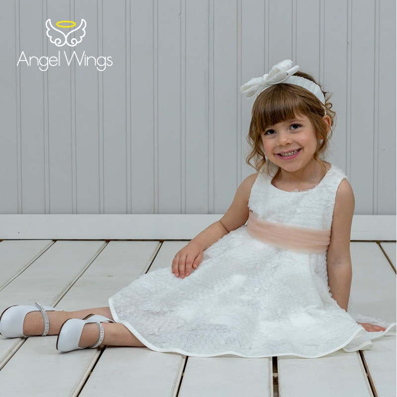 Baptism Clothes for Girl - Kelly Dusty Pink