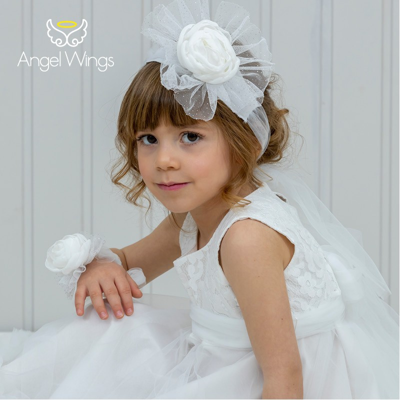 Baptism Clothes for Girl -  Ennie White