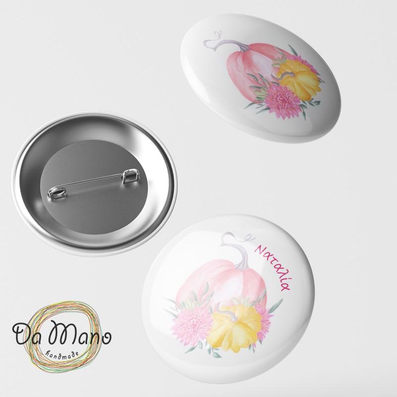 Badge Pin - Pumpkin