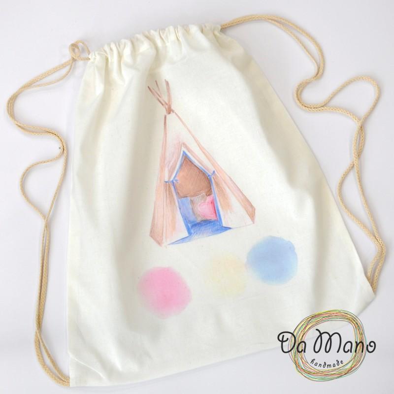 Drawstring Backpack  - Tent